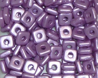 Quad Beads - #3 Lila Vega - 4mm 5 grams