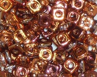 Quad Beads - #6 Crystal Sunset - 4mm 5 grams