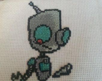 Cross Stitch Gir