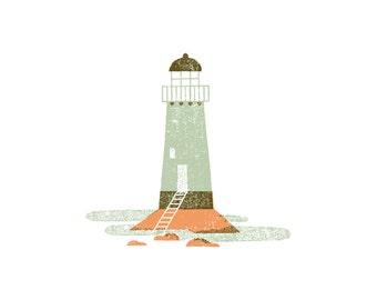 Abandoned Lighthouse Print
