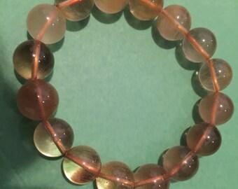 Natural Crystal Stretchy Bracelet
