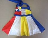"MADE TO ORDER Toddler Size Katy Perry ""Beach Ball"" Inspired Dress"