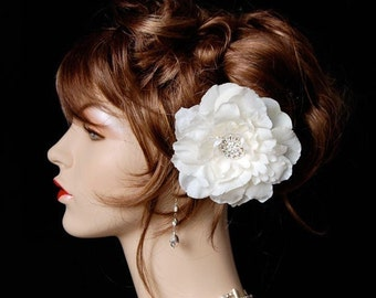 Wedding Hair Flower, Bridal Hair Clip, Wedding Headpiece, Wedding Accessories, Bridal Hair Accessory - Elegant Muse