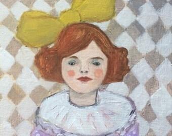 Oil painting portrait - Frankie - Original art
