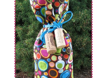 Wine A Little Gift Bag PDF Pattern