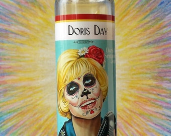 Doris Day Las Muertas Candle