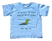 Duckbill Platypuses Are Important Kids Tshirt - Cute Funny Platypus Shirt - Youth and Toddler Sizes
