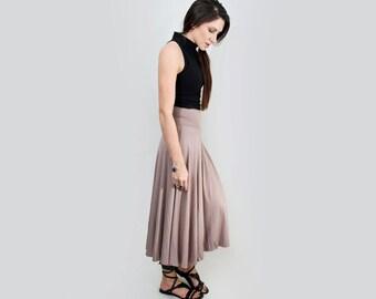 Midi Skirt • High Waist • Women's Full Skirts • Petite & Tall Length • Loft 415 Clothing (No. 103)