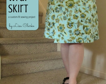 Spring Wrap Skirt Sewing Pattern and Tutorial
