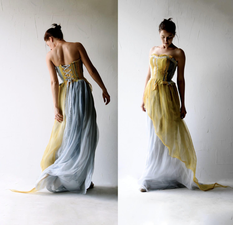 Wedding dress alternative wedding dress boho wedding dress for Alternative dresses for weddings