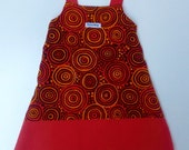 Velvet and Corduroy Dress - Size 3 (3T)