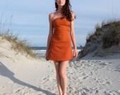 Organic Love Me 2 Times Simplicity Mini Dress (light hemp/organic cotton knit) - organic dress