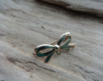 Gold Bow Vintage Pin, Supply Pin Bow- 1