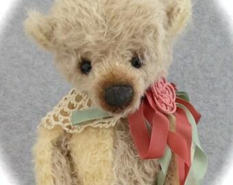 """Mary Dowd Bears-16"""" Dogwood-Mohair Teddy-LE 1/1 SALE"""