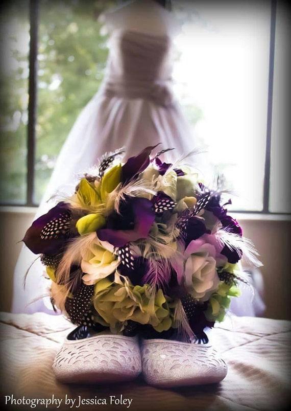 EGGPLANT EXTRAVAGANZA Wedding Bouquet