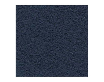 Ultrasuede Beading Foundation or Backing 43281 , Admiral Blue, 8.5 Inches, Ultra Suede Cabochon Backing, Bead Backing, Microfiber Fabric