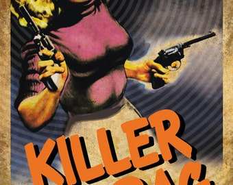 Ed Wood's Killer in Drag 11x17 print