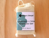 Herban Lifestyle Rosemary+Lime Vegan Shampoo Bar