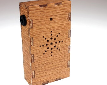 Beep-it Wooden Theremin Synthesizer Effects Box