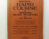 Shefte's Rapid Course in Modern Piano Playing Book Two, 1927 Piano Instruction Book