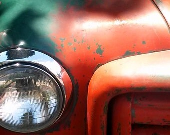 Vintage Truck fine art photography print (free shipping)