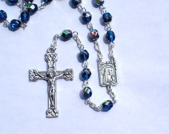 On SALE Our Lady of Fatima Handmade Rosary