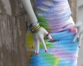 10 Colored Bangle Doll Bracelets for Petite Slimline Dolls 31 different colors Made When Ordered Monster Ever After Pullip
