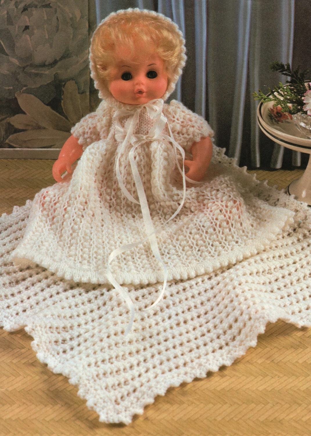 Post Free Knitting / Doll Clothes / 3plyYarn / Baby Dolls