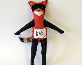 Fox textile animal - bad fox