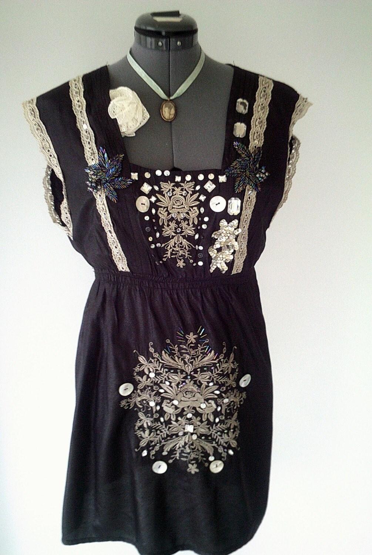 Handmade Gothic Harajuku Fashion W H Naoto Spiderweb Bag: Black Handmade Dress Gothic Dress Black Evening Dress