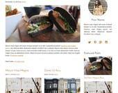 Blog Design - WordPress Template - Mobile Responsive Design - Genesis Child Theme - Gold One - With Installation