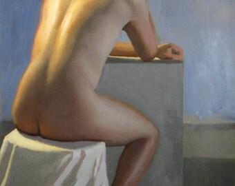 Marcos - original oil painting (FP 55)