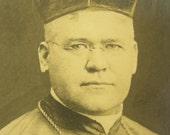 Victorian Photography Catholic Bishop Right Reverend Thomas Cusack 1915