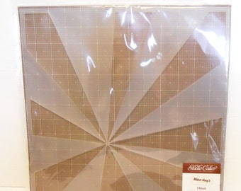 Sun ray stencil Studio Calico Mister Hueys Mask 12x12 Burst or star burst perfect scrapbooking card making journal planner crafting fo spray