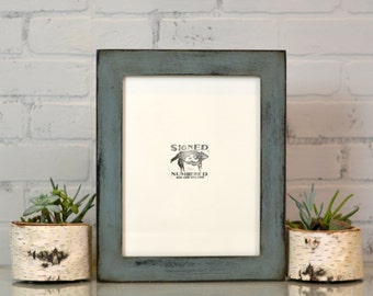 "8.5x11 Picture Frame in 1.5"" Standard style and in Finish Color Of YOUR CHOICE - Handmade 8.5x11 Document Frame - Art frame - Letter Size"