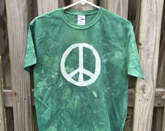 Kids Peace Sign Shirt, Green Peace Sign Shirt, Boys Peace Sign Shirt, Girls Peace Sign Shirt, Kids Peace Shirt, Green Peace Shirt (Youth XL)
