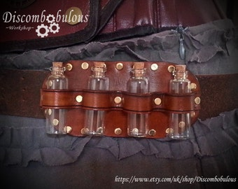 Steampunk Apothecary Belt Slider