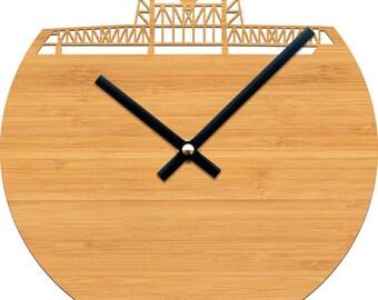 Steel Bridge Clock - Portland, Oregon