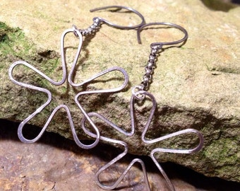 Flower garden earrings RESERVED FOR TRICIA