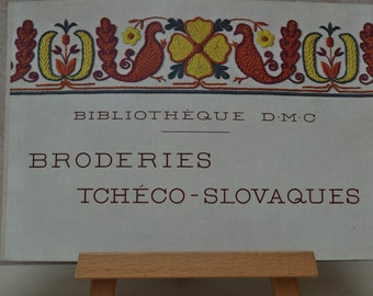 Vintage French Broderie Pattern Book from DMC