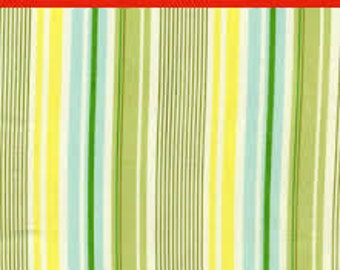 "LAMINATED Cotton  - Slim Daddy Stripes, 56"" Wide, BPA & PVC Free"