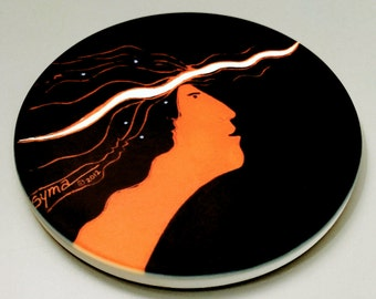 Muse Charger Coaster - CLASSIC CALIOPE