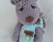 Cute Squirrel Crochet Pattern by Teri Crews Instant Download