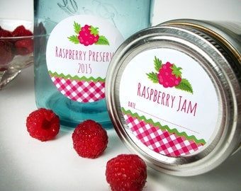Canning jar labels & stickers for your canned by CanningCrafts