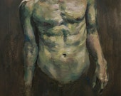 Figurative Study IV, Original Oil Painting