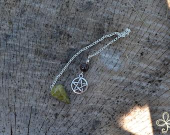 Pendulum with Pentagram Charm