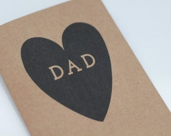 DAD CARD // card for dad // father's day greeting // dad's birthday card // card for your dad // card for dad // greeting card for dad //