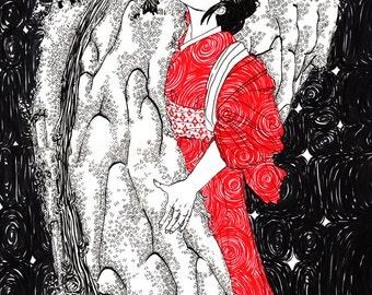 Oiko's Riceballs -a Japanese Folktale