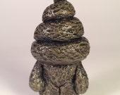 Lil Poo Friend - Resin Toy - Swampy Brown