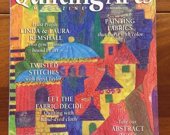 Quilting Arts Magazine Summer 2006, Issue 22 Back Issue